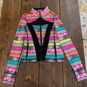 Size 6 girls Ivviva perfect your practice jacket